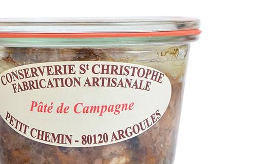 Pâté de campagne - Conserverie Saint-Christophe