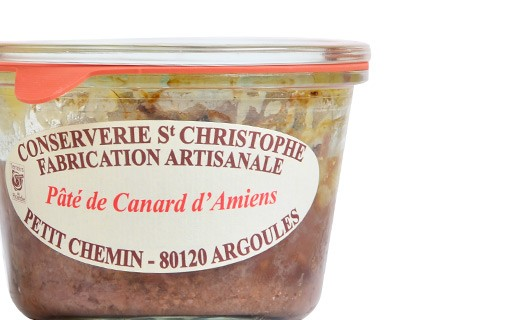 Pâté de canard d'Amiens - Conserverie Saint-Christophe
