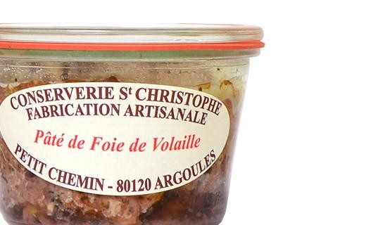 Pâté de foie de volaille - Conserverie Saint-Christophe