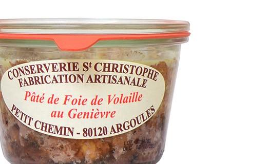 Pâté de foie de volaille au Genièvre - Conserverie Saint-Christophe