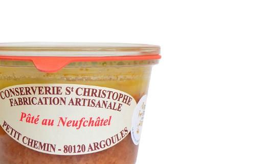Pâté au Neufchâtel - Conserverie Saint-Christophe