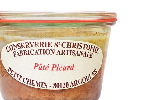 Pâté Picard - Conserverie Saint-Christophe