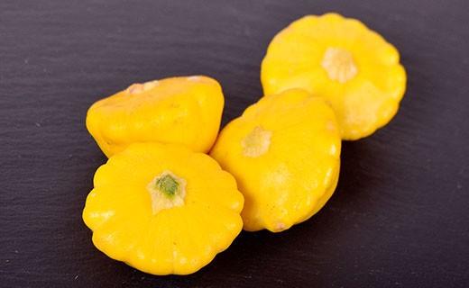 Patisson jaune mini - Edélices Primeur