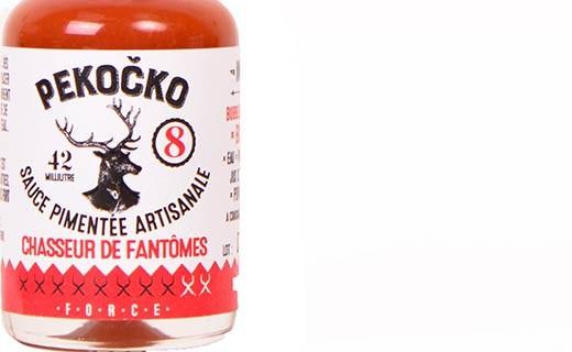 Sauce pimentée chasseur de fantômes - force 8 - Pekočko