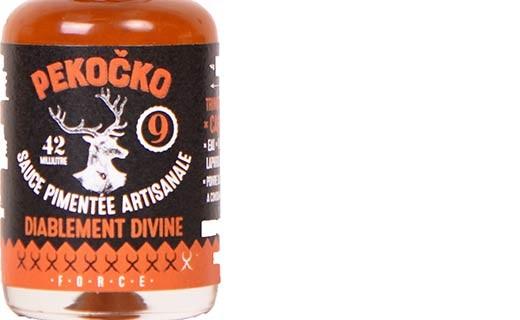 Sauce pimentée diablement divine - force 9 - Pekočko