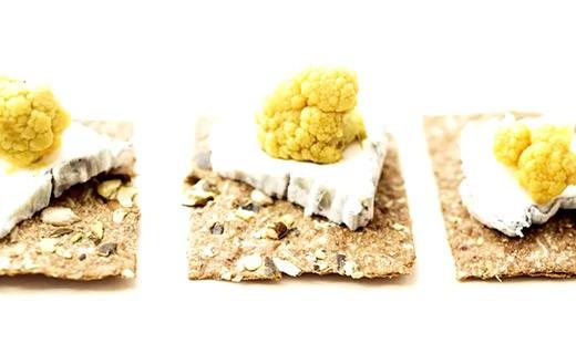 Pickles de chou fleur au curcuma - Golden Jubilée  - Les 3 Chouettes