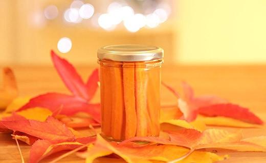 Pickles de carotte au gingembre - Orange Aphrodite - Les 3 Chouettes