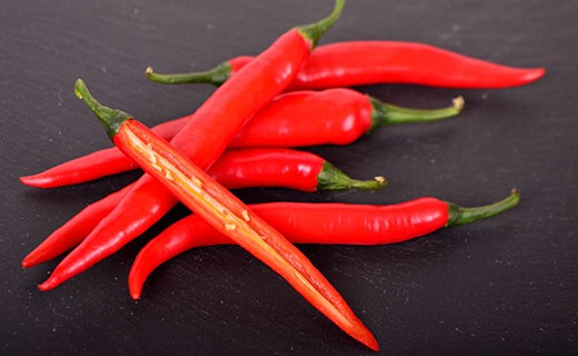 Piment rouge - Edélices Primeur