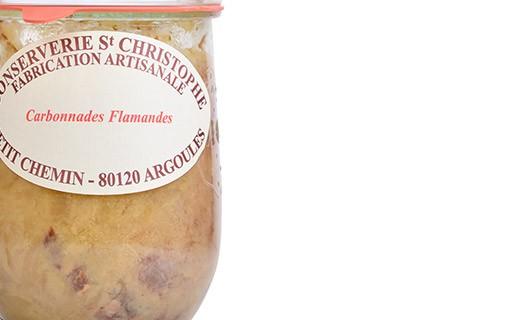 Plat cuisiné Carbonnade flamande - Conserverie Saint-Christophe