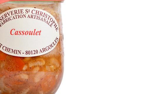 Plat cuisiné Cassoulet - Conserverie Saint-Christophe