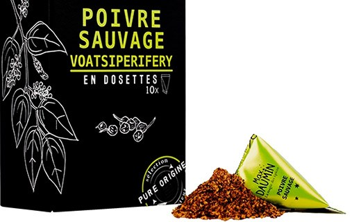 Poivre sauvage Voatsiperifery - dosettes fraîcheur - Max Daumin