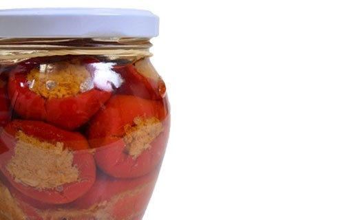 Petits poivrons farcis au thon - Colimena