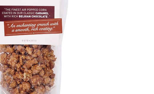 Pop Corn Caramel et Chocolat Belge -