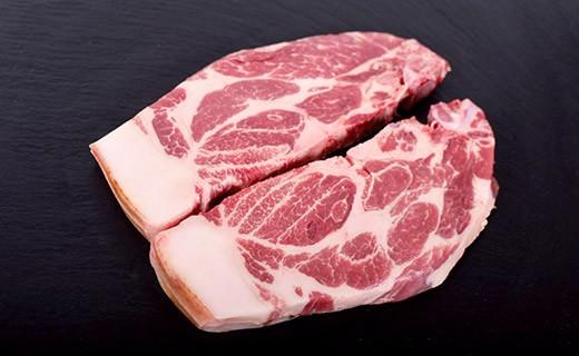 Porc Label Rouge - Côte d'échine de porc - Edélices Boucherie
