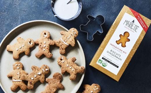 Préparation bio pour Biscuits de Noël - Marlette