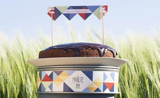 Préparation bio pour gâteau d'anniversaire - Marlette