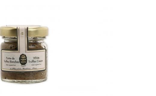 Purée de truffes blanches tuber magnatum pico  - Maison de la truffe