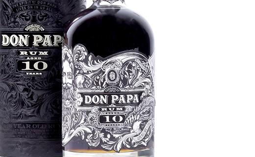 Rhum Don Papa 10 ans - édition limitée - Don Papa