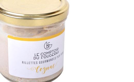 Rillettes de porc au Cognac - Le comptoir du Fougeray
