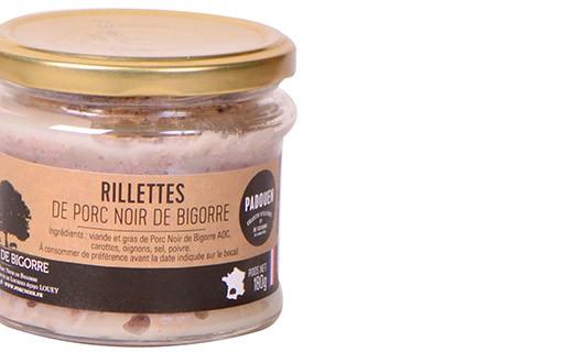 Rillettes de porc noir de Bigorre - Padouen