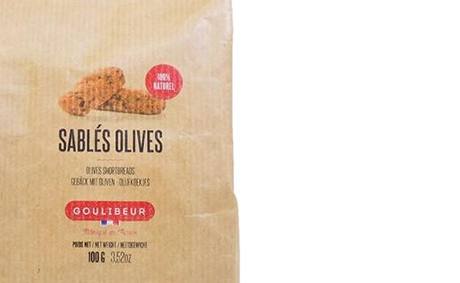 Sablés olives - Goulibeur