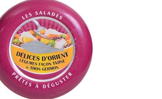 Salade aux délices d'Orient, thon germon et légumes façon tajine au citron confit - La Belle-Iloise