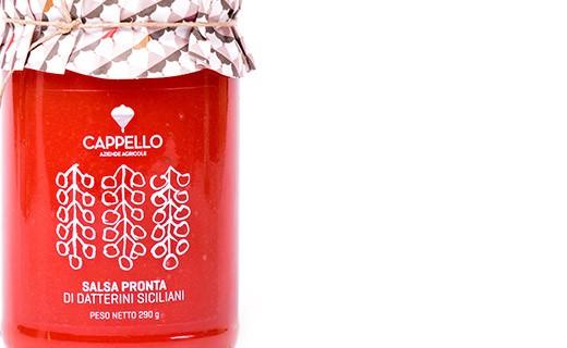 Sauce tomate sicilienne datterini - Cappello