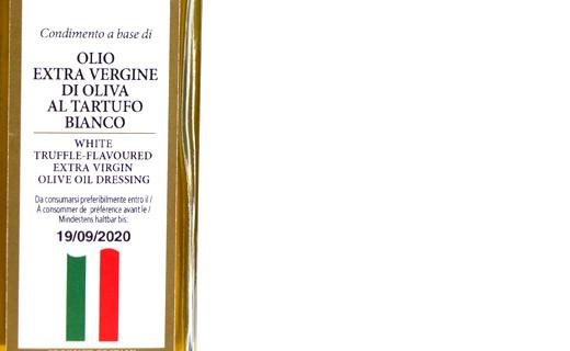Huile d'olive extra vierge à la truffe blanche - Savini Tartufi