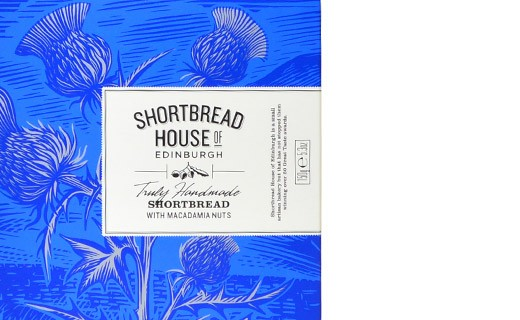 Shortbread Noix de Macadamia - Shortbread House of Edinburgh