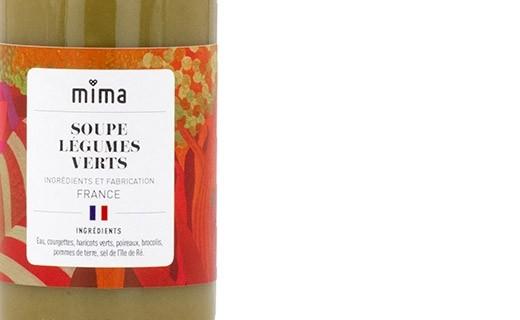 Soupe légumes verts bio - Mima Bio