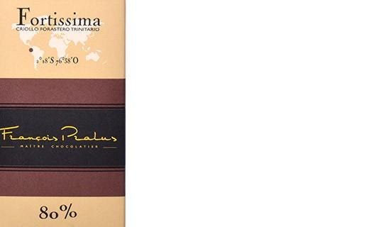 Tablette chocolat noir Fortissima - Pralus