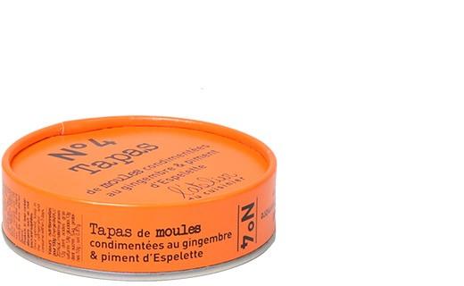 Tapas N°4 - Moules au gingembre et piment d'Espelette - L'Atelier du Cuisinier