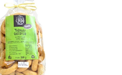 Taralli aux graines de fenouil - Crudo