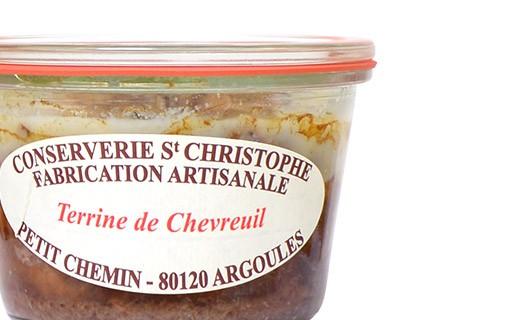 Terrine de chevreuil - Conserverie Saint-Christophe