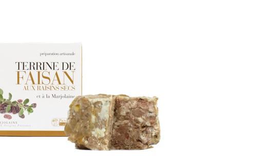 Terrine de Faisan aux Raisins et à la Marjolaine - Provence Tradition