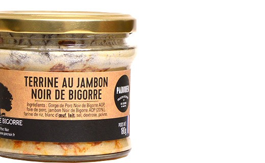 Terrine au jambon noir de Bigorre - Padouen