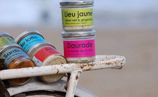Rillettes de daurade grise au poivre de Guinée - L'Atelier du Cuisinier