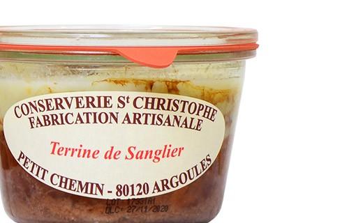 Terrine de sanglier - Conserverie Saint-Christophe