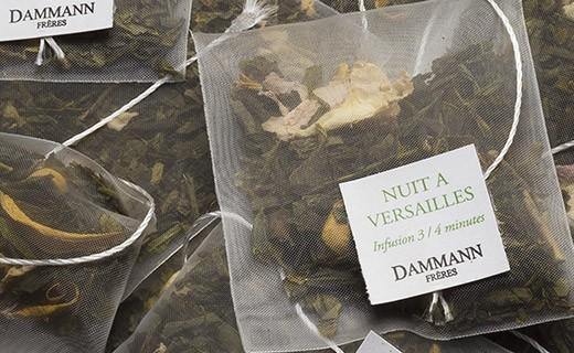 Thé Nuit à Versailles - sachet cristal - Dammann Frères
