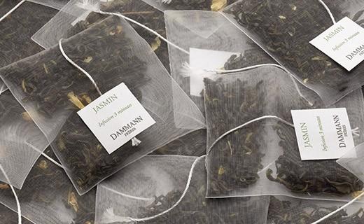 Thé Vert au Jasmin - sachet cristal - Dammann Frères
