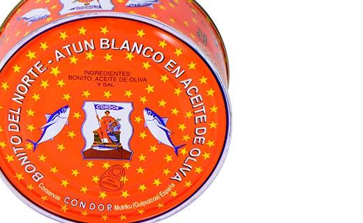 Thon blanc germon à l'huile d'olive - Condor