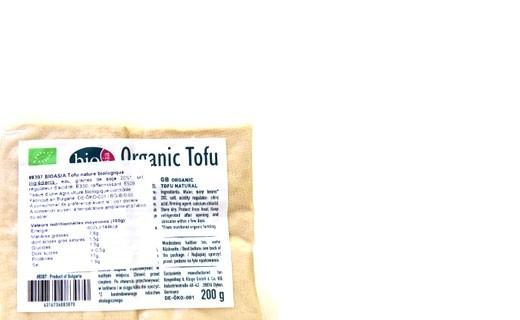 Tofu bio - Bio Asia