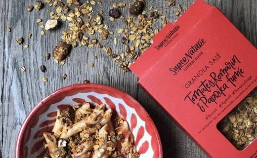 Granola salé tomates, romarin & paprika fumé bio - Catherine Kluger