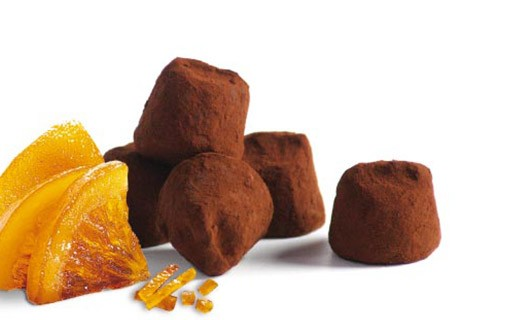 Truffes Fantaisie à l'Orange confite - Mathez