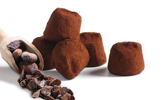 Truffes Fantaisie aux Eclats de Fève de Cacao - Mathez