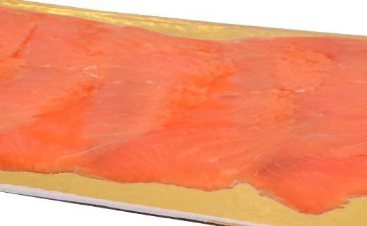 Truite de mer fumée - tranchée - Kaviari