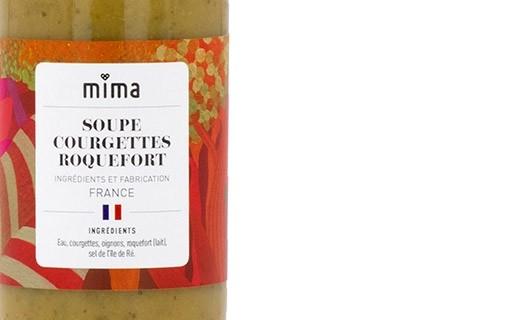 Soupe courgettes roquefort bio - Mima Bio