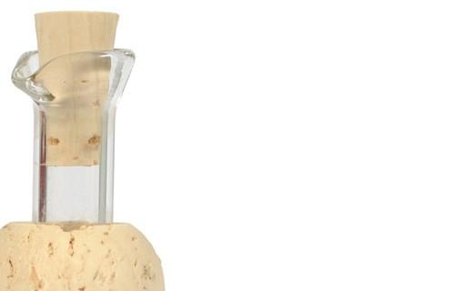 Bouchon en verre et en liège - Leonardi