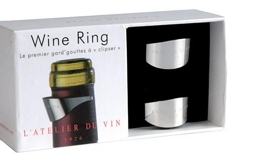 Wine Ring anti-gouttes - boîte de 2 - L'Atelier du Vin