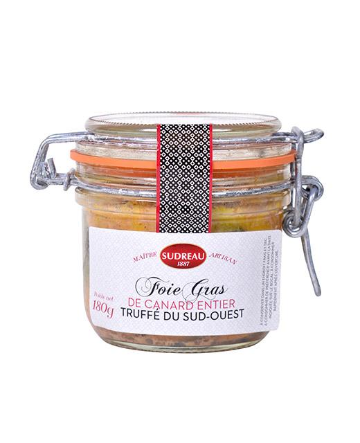 Foie gras de canard entier truff sudreau - Comment cuisiner le canard entier ...